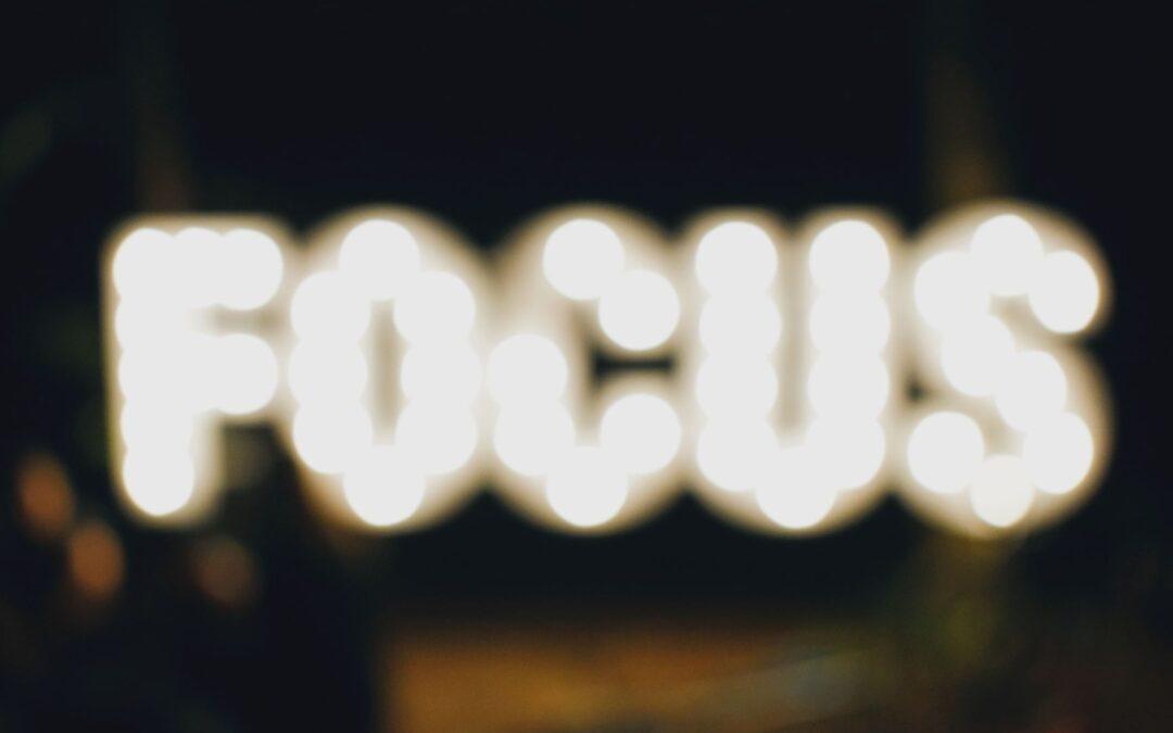 Hvordan koncentrerer jeg mig bedre og holder mit fokus?